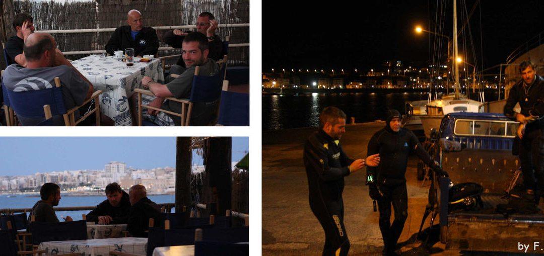 Tauchlehrerprüfung auf Malta 2014
