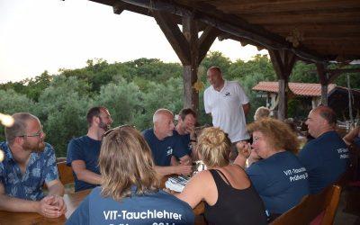 Tauchlehrerprüfung in Kroatien 2016