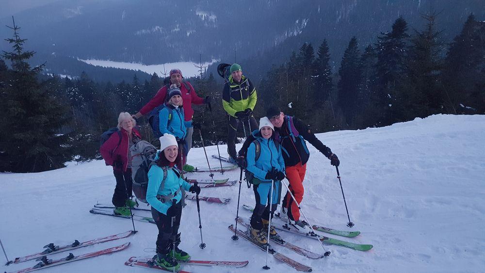 Skiwochenende am Großen Arber