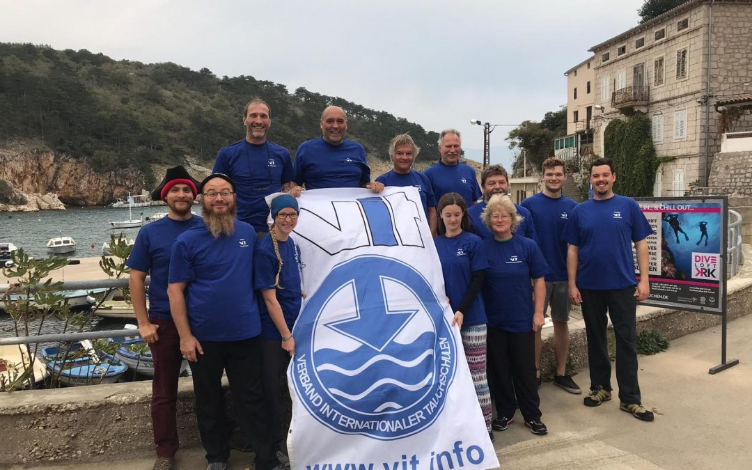 Zwei neue Tauchlehrer bei den Woidtauchern – Verbands – Tauchlehrerprüfung des VIT im Oktober 2018 in Vrbnik