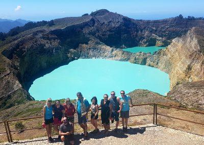 Vulkan Kelimutu - Kraterseen